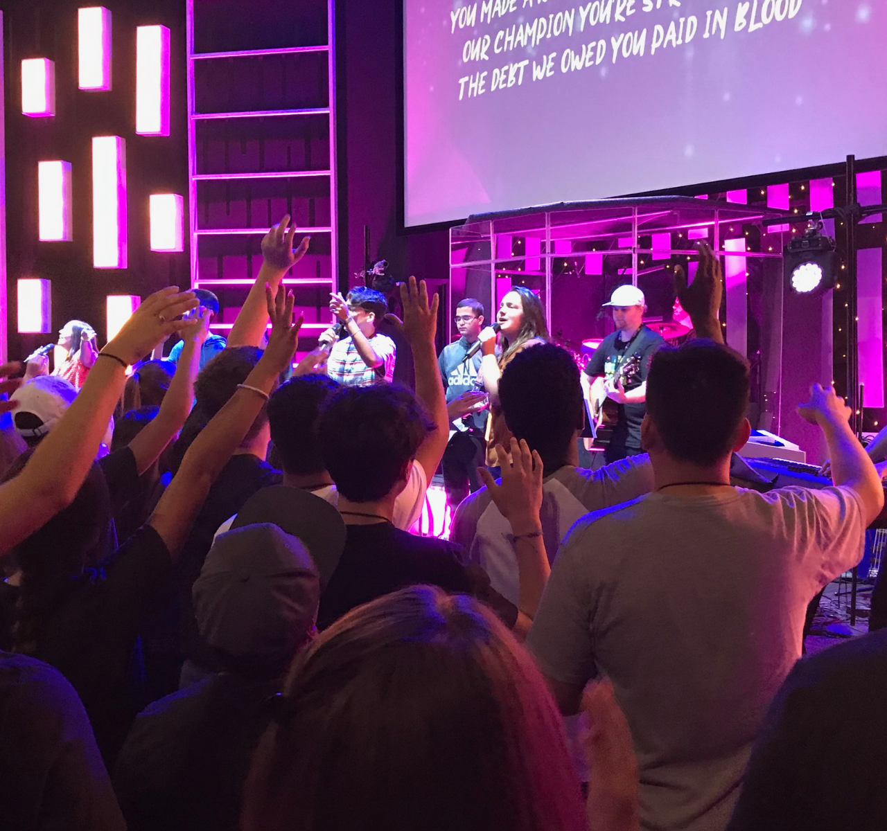 The Word Fellowship Church (TWFC) Twenty20 Youth Ministry worship