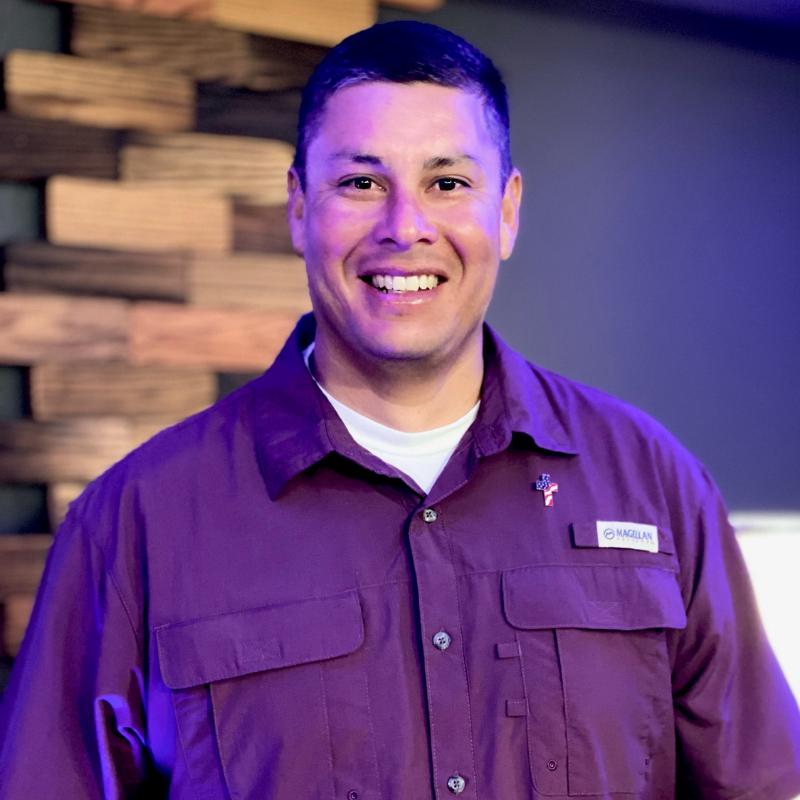 Dennis Lopez, The Word Fellowship Church (TWFC) Head Usher, first service