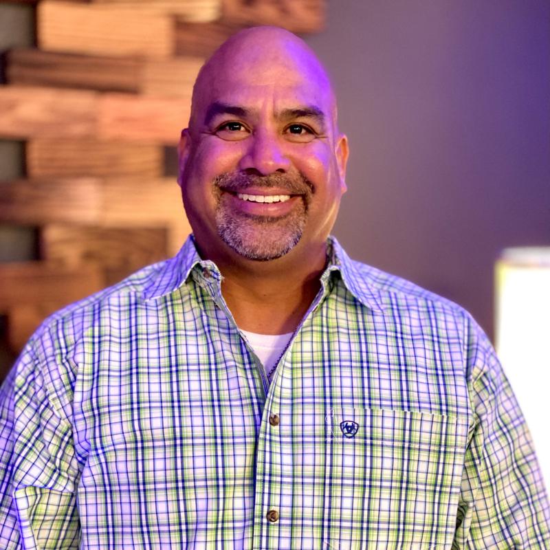 Rodney Jaramillo, The Word Fellowship Church (TWFC) Head Usher, second service