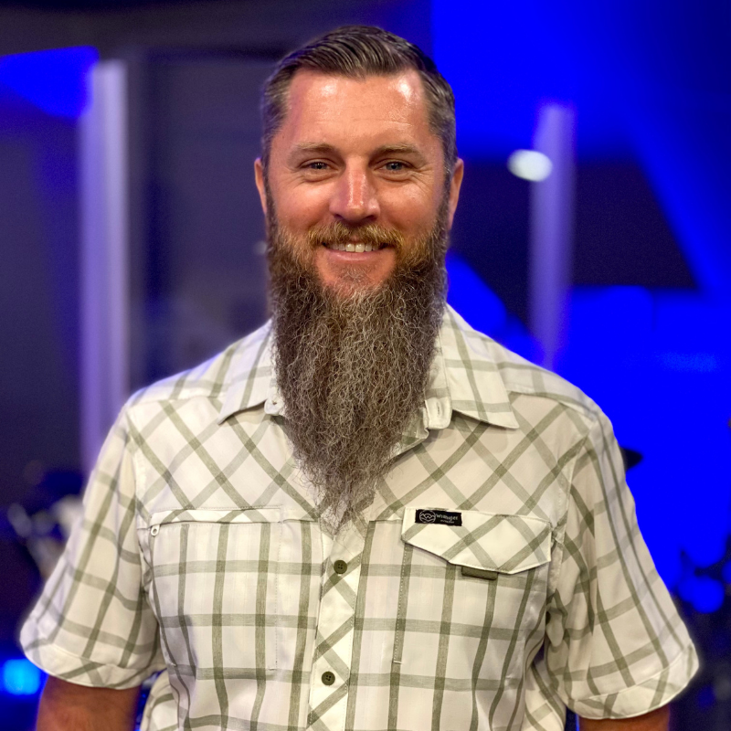 Jared Hill, The Word Fellowship Church (TWFC) Audio/Visual/Head of Grounds